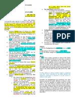 Remedial Law 1 Case Digests- 2020 Syllabus