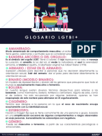 Glosario LGTBI+  FONDO BLANCO