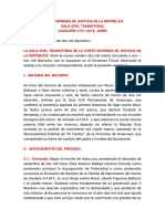 CASACIÓN 2151-2016, JUNÍN