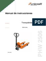TRANSPALETA 6.PHW-2506_ ESP
