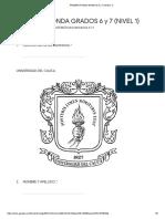 PRIMERA RONDA GRADOS 6 y 7 (NIVEL 1) - Formularios de Google