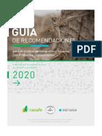 Guia Recomendaciones Para Controlar Langostas y Tucuras Con Productos Fitosanitarios CASAFE SENASA