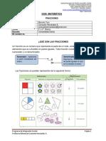 Guía Mat Fracciones