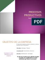 Procesos  Productivos