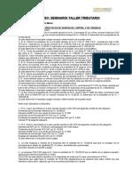 CASOS PRACTICOS RENTA DE CAPITAL