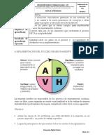 CICLO PHVA IMPLEMENTACION DEL PROCESO DE MEJORAMIENTO.pdf