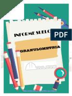 INFORME SUELOS GRANULOMETRIA