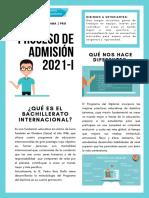 Folleto Pd-IB Admision 2021