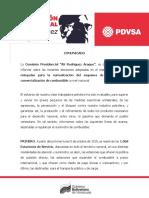 El régimen de Maduro anuncia sobre el nuevo sistema de distribución de combustible en el país a partir del #5Oct