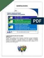 GENERALIDADES Economia Solidaria (1)