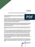 Metro Retail Q2 Disclosure Release 17Aug2020