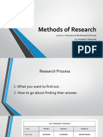 Methods of Research-lession 2
