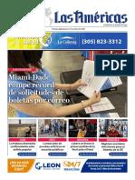 DIARIO LAS AMÉRICAS Portada digital del jueves 1ro de octubre de 2020