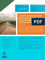 vias rurales - CEPAL
