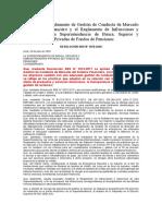 Modifican el Reglamento de Gestión de Conducta de Mercado del Sistema Financiero y el Reglamento de Infracciones y Sanciones de la Superintendencia de Banca