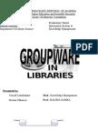 Groupwareمجموعات العمل والمكتبات