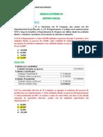 Trabajo Autónomo #2-Contabilidad de Costo