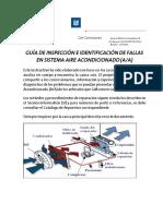 Anexo 1- GUÍA DE INSPECCIÓN E IDENTIFICACIÓN DE FALLAS SISTEMA AIRE ACONDICIONADO.pdf