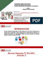 PROBLEMAS RELACIONADOS AL MEDICAMENTO  exposicion (1).pptx