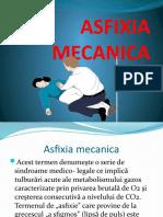 Asfexia Mecanică