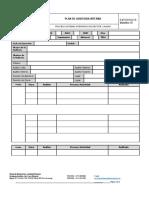 PRO-1003-D3-05 --  FORMATO, Plan de Auditorias, VERSIÓN 06