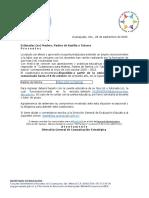 Cuestionario inicio ciclo 2020-2021 Educación Básica Guanajuato
