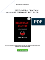 restaurant-startup-a-practical-guide-3rd-edition-by-ravi-wazir