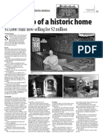 Letting go of a historic home