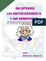 como entender las multiplicaciones en q y sus propiedades Elianny