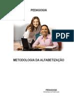 METODOLOGIA DA ALFABETIZAÇÃO 1