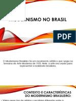 Modernismo no Brasil - as 3 gerações