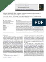 Operant behavior in dwarf hamsters (Phodopus campbelli) Effects of rate of reinforcement and reinforcer flavor variety.pdf