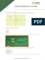 Aristas - Prueba de Matemática