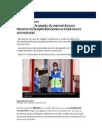 Temor por el repunte de coronavirus en Madrid