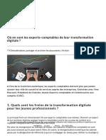 Où en sont les experts-comptables de leur transition digitale _
