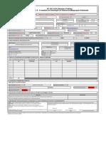 Anexo II- Formulario de Solicitação  de Vistoria de Minigeração Distribuida
