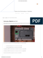 CLP_ Tipos de Entradas e Saídas - Sala da Elétrica