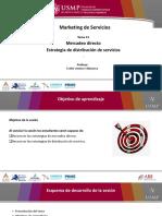 11 Estrategias de mercadeo directo y distribución de servicios