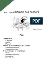 radiothérapie des cancers