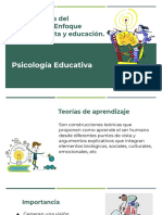 Tema_ Teorías del aprendizaje_ Enfoque constructivista y educación
