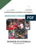 Genocidio en Guatemala. Indigenas Mayas.