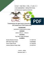 Tratamiento de Aguas Superficiales - PTAP Santa Ana - Laboratorio Contaminación de Agua.docx