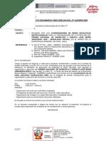 OFICIO 270 -REUNION DIRECTIVOS JOSE MARIA ARGUEDAS REI