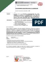 OFICIO 269 - REUNION DOCENTES DE PRIMARIA YSECUDNARIA  JOSE MARIA ARGUEDAS