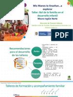 PPT TALLER DE FORMACION A FAMILIAS 10-09-2020