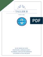 taller II institucional