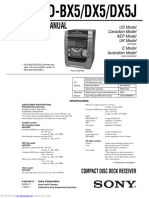 Manual de Servicio Sony HCD-DX5.pdf