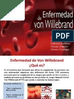 Von Willebrand y Atención odontológica