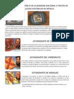 TRANSICION HISTORIA BANDERA MEXICO