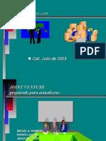 diapositivas joint venture